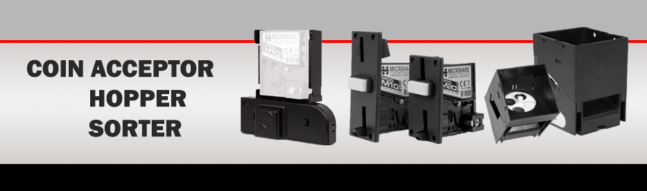 Coin Acceptors / Hoppers / Sorters